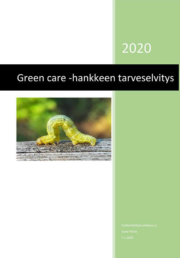 Green-Care-selvitystyön-raportti-kansi